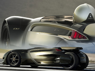 Peugeot Has Created An All New Electric Sports Car Bearing The Alphanumeric  Appellation EX1, ...