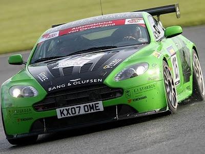 Aston Martin Sport Cars Green Vantage V1