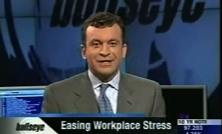 "CNBC-TV's ""Bullseye"": The TM technique for easing workplace stress"