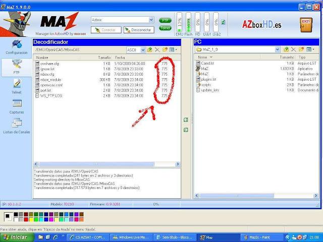 -030 Como configurar CS no Azbox Elite via Mbox.