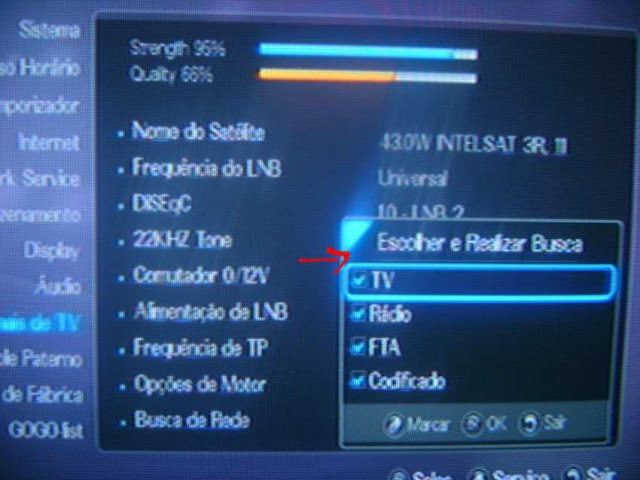 -042 Como configurar CS no Azbox Elite via Mbox.