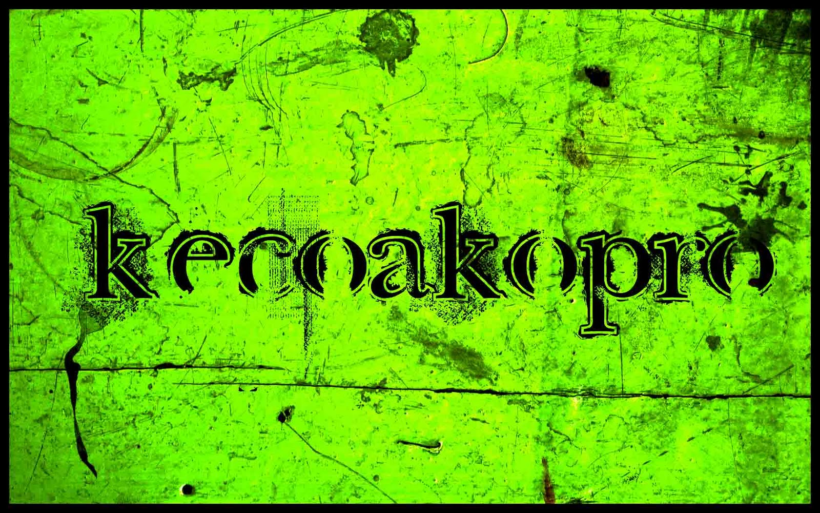 Dari Diari Diare Kecoa Kopro