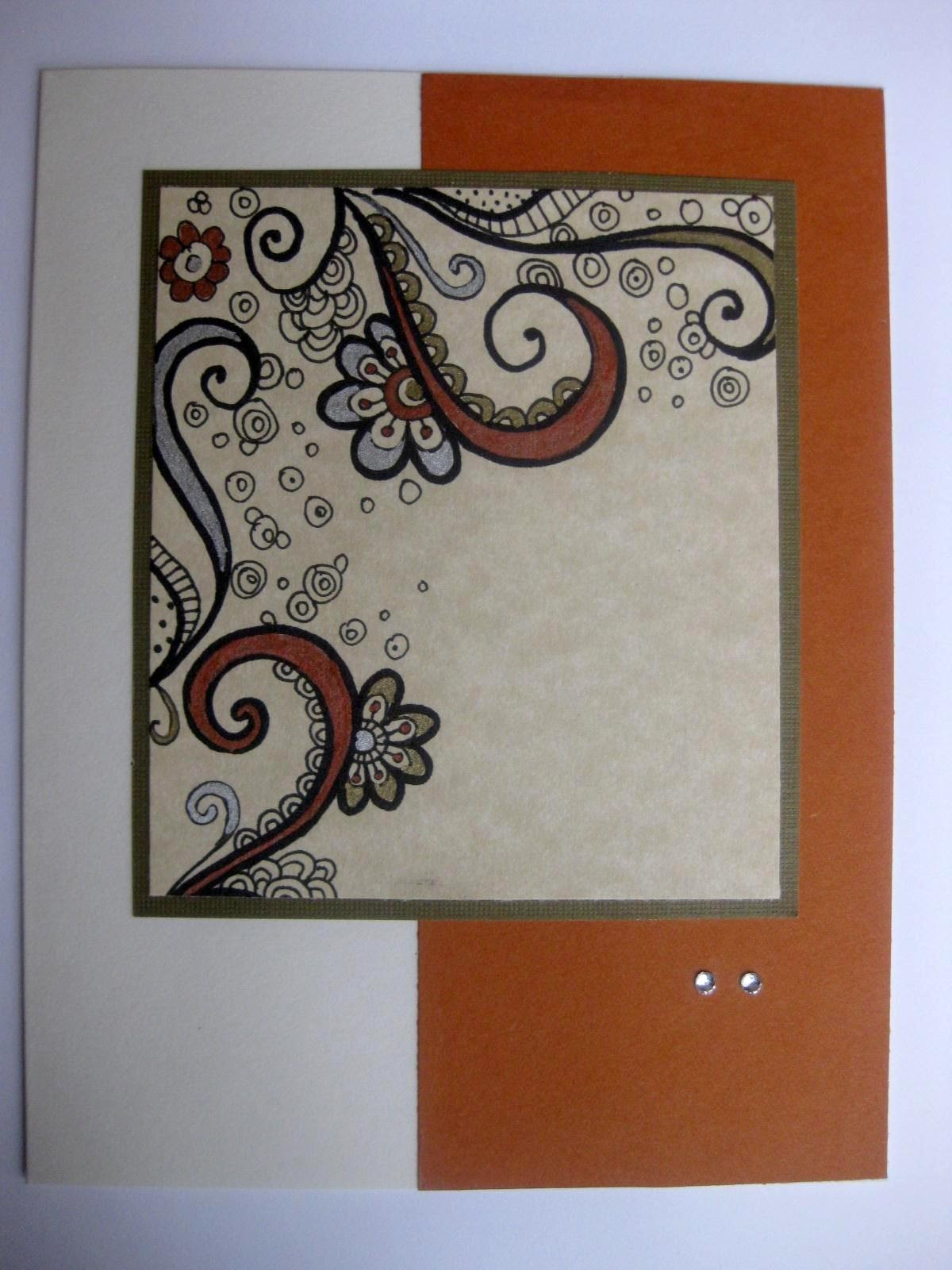 The gallery for --> Simple Handmade Greeting Cards Designs