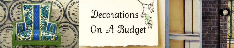 Decorations On A Budget