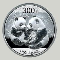 srebrna kitajska panda china mint srebrnik 2009 2012 2011 2010