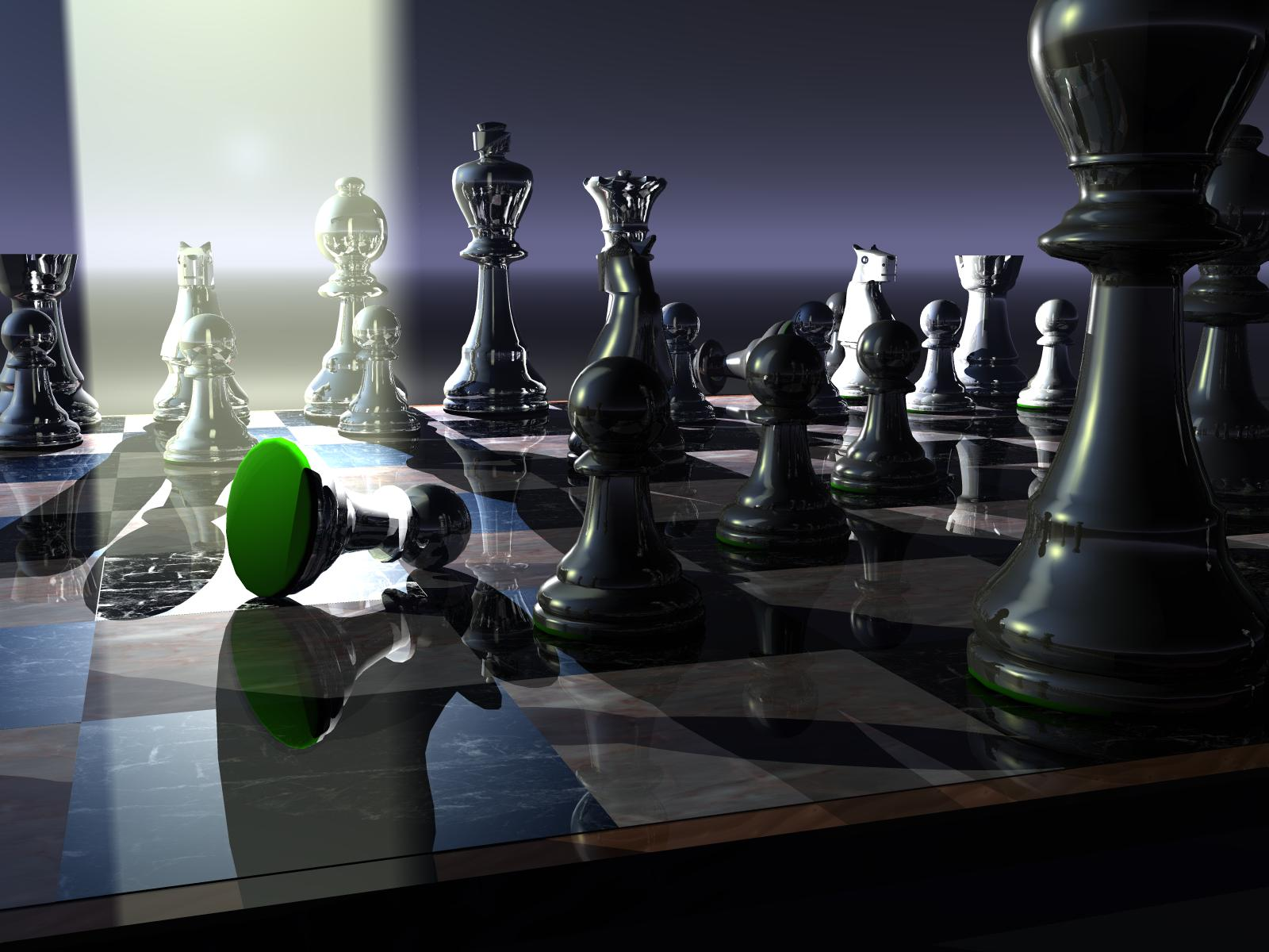 3d wallpaper desktop chess board 3d