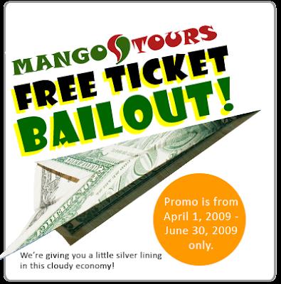 Mango Tours Promo Ticket
