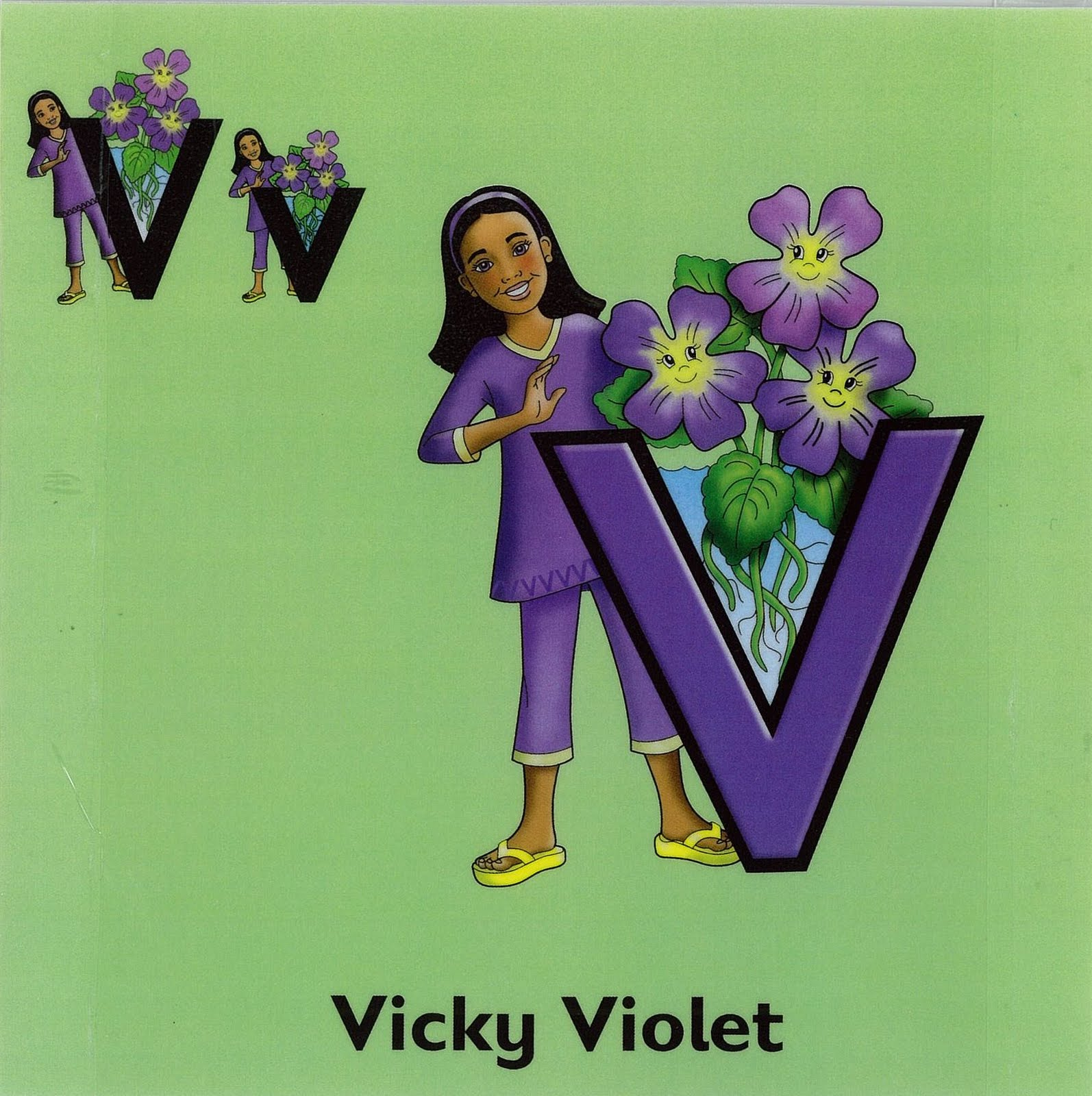 V Is For Violet Maths May and june 201...