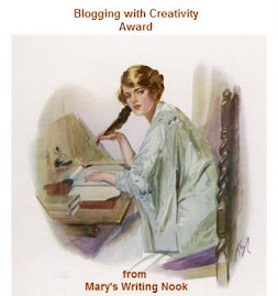 BLOGGING WITH CREATIVITY AWARD