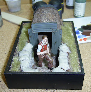 how to make anderson shelter model