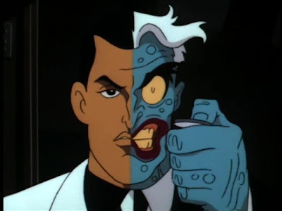 animated faces. He was a two-face group avatar