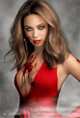 Beyoncé fait la couverture de VOGUE Italie [2010] Beyonce+vampire