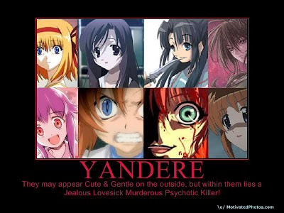 typical yandere facesw...