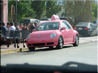 pink punch buggy