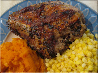 Mom's Cafe Home Cooking: Grilled Chicken with Herbs De Provence