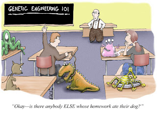 genetic engineering 101 cartoon