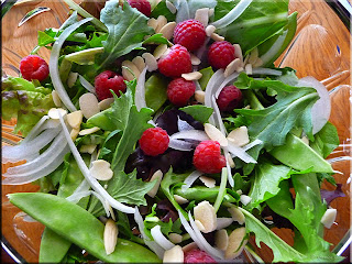 cheery spring salad