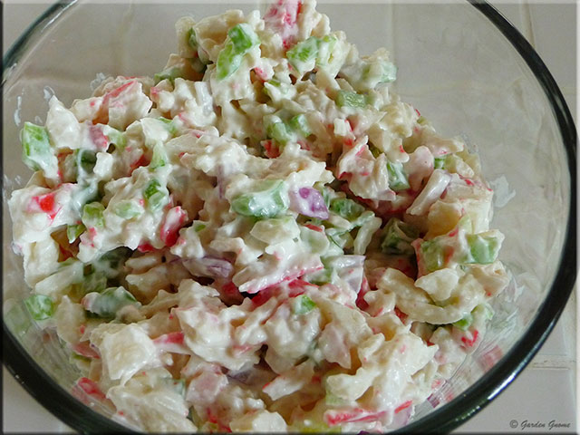 Mom's Cafe Home Cooking: Imitation Crab Meat (crabmeat) Salad