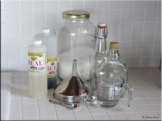 vanilla syrup ingredients