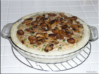 turkey and mushroom pie