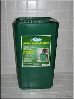 Natura Kitchen Compost Caddy