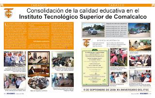 calidad educativa en el instituto tecnologico superior de comalcalco ...