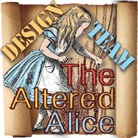 Past Design Team Member For The Altered Alice Blog