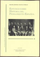 Ciencia y reforma social en Adolfo A. Buylla. En ESTUDIOS SOBRE HISTORIA DEL PENSAMIENTO ESPAÑOL