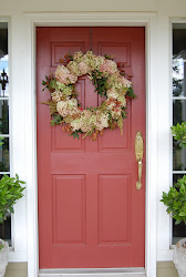 Front Door Entrance for Fall