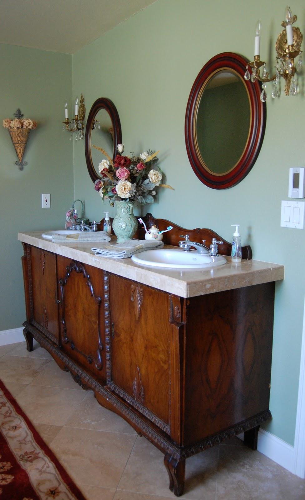 Remodelaholic Elegant Vintage Master Bathroom Makeover