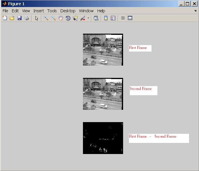 Matlab - Working with Videos: Low complexity background subtraction ...