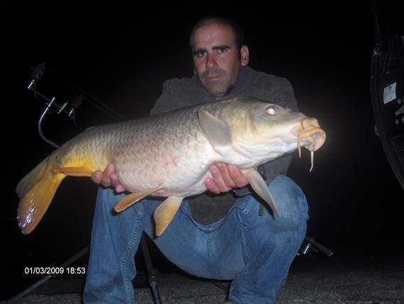 Carpa 6,7 kg, 1 Março 2009
