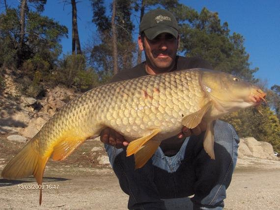 Carpa 8,2 kg 13 Março 2009