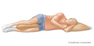hip pain while lying or sleeping on side
