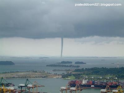 the scary tornado