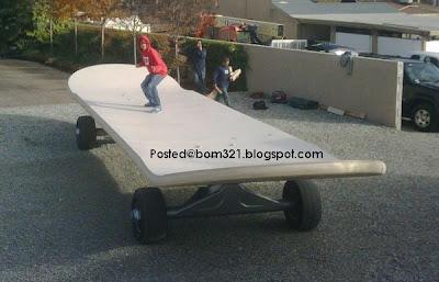 SkateBoard Gergasi !
