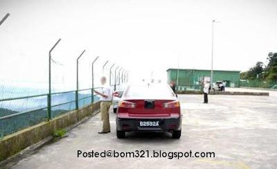 Gambar Proton Lancer Naik Genting !