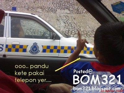Lawak Malaysia : Bukan Semua Polis Itu Patuh Undang-Undang !