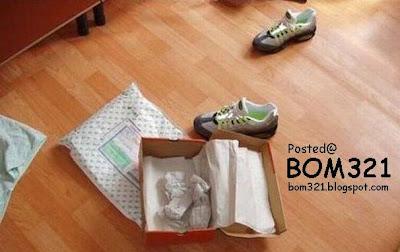 Jenama Tiruan : Kasut Nike !