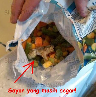 Hati Membeli Produk Frozen Mixed Vegetables !