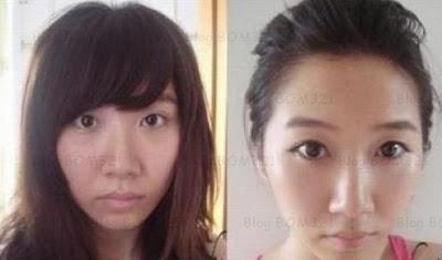 Sebelum Dan Selepas Makeup !