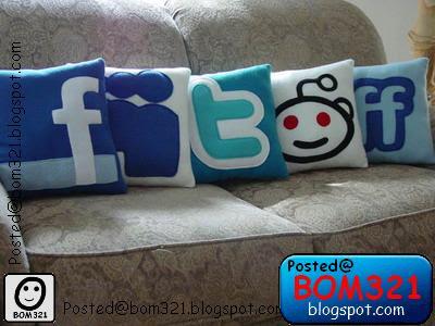 Bantal Rangkaian Sosial (Social Network) !