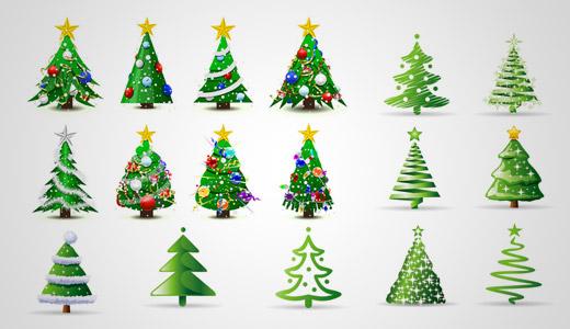 Vectores arboles de navidad tutoriales photoshop dise o - Diseno de arboles de navidad ...