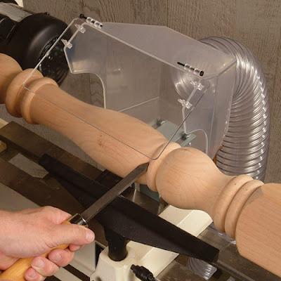 Lathe Dust Hood - woodturning