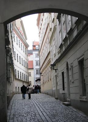 Bécsi utca...