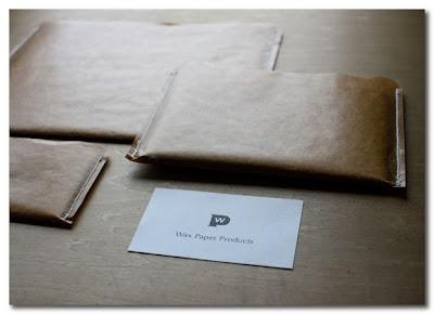 oji and design wax paper pocket