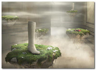 louboutin winter tales by Khuong Nguyen