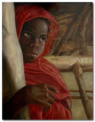 sudanese girl by enzie shahmiri