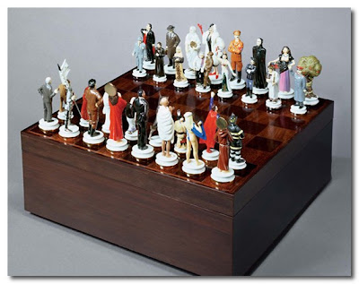 the art of chess mauritzio cattelan