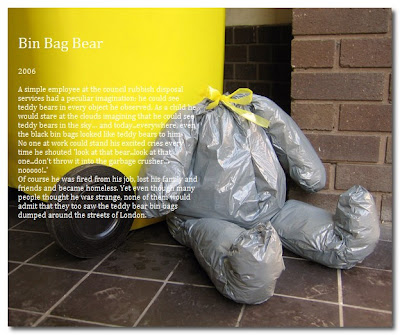 bin bag bear by raw edges
